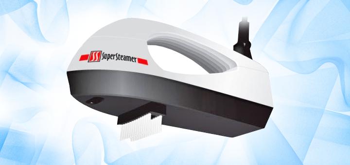 1, 2 или 4 сертифицированных паровых утюга Super Steamer: вертикальная глажка, чистка замши, мягкой мебели и не только!
