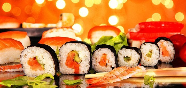 Скидка на все меню суши от студии доставки «ЁСуши»!