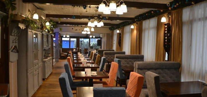 Скидка 30%  на меню и бар в ресторане «Флюгер»