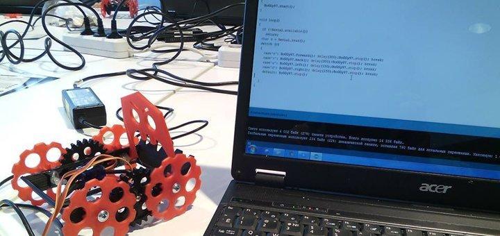 Занятия Arduino basic в школе робототехники «Introbots»
