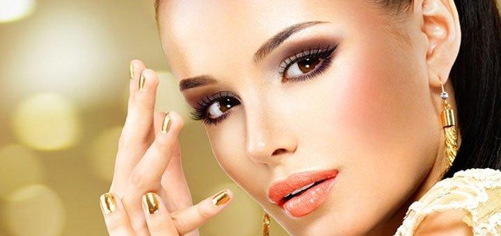 Профессиональный макияж с уходом за бровями в eco beauty hub «Ботаника»