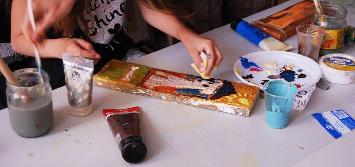 Мастер-класс по левкасу от центра искусств «Локация»