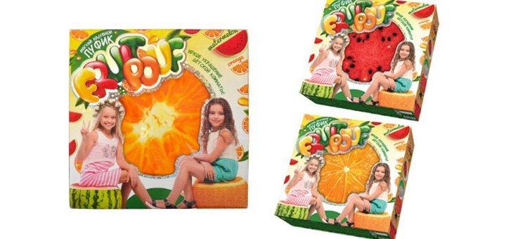 Настоящий хит среди детской мебели и игрушек! Мягкий надувной пуфик Fruit Pouf!