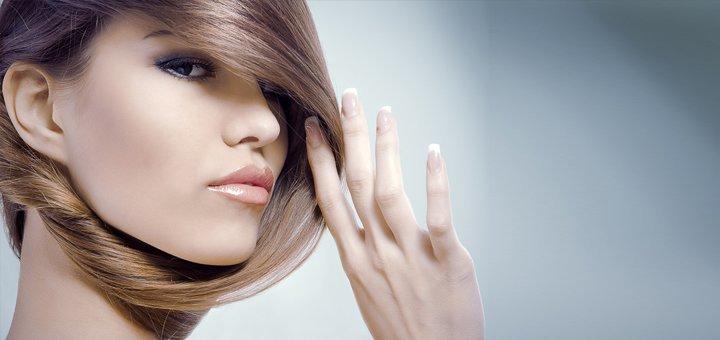 Мужская или женская стрижка и окрашивание в салоне красоты «Конфетка»