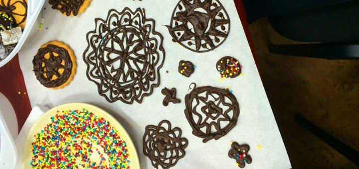 Мастер-класс по изготовлению шоколадных конфет в студии «La Bricolage»