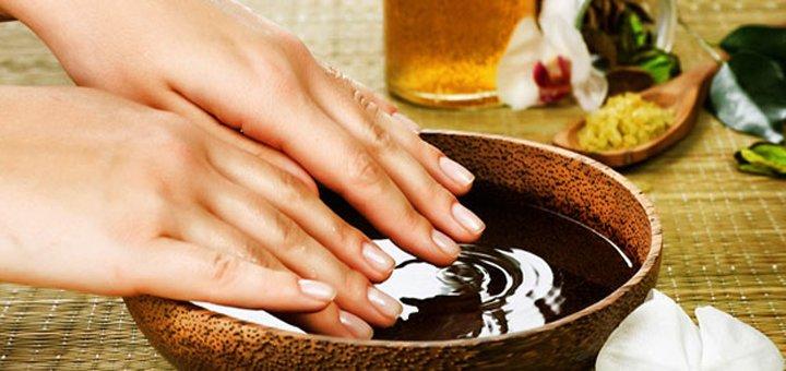Маникюр и педикюр с покрытием гель-лаком в салоне красоты «Dolce Vita»