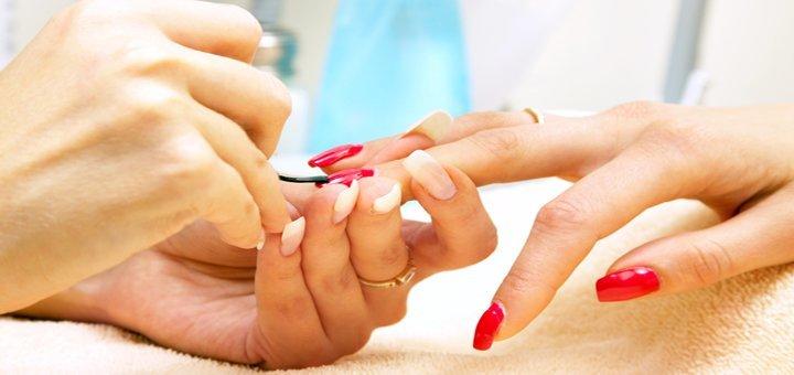 Безупречные ногтики! Комбинированный маникюр и педикюр с покрытием гель лаком или френч в Nail студия Татьяны Тындюк!