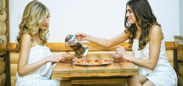 Суперпредложение! 4 часа посещения классической и соляной сауны, 2 пиццы и чайник чая в банном комплексе «Боцман»!