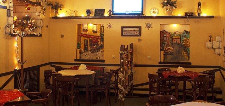 Скидка 50% на меню кухни, чай и кофе в кафе-баре «Majori»