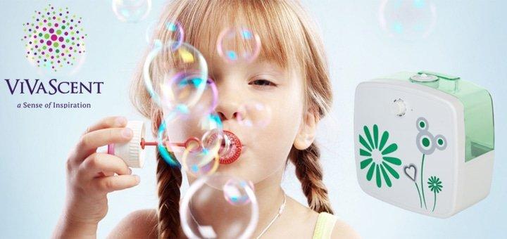 Скидка 10% на увлажнители-аромадиффузоры в интернет-магазине shop.vivascent.com.ua