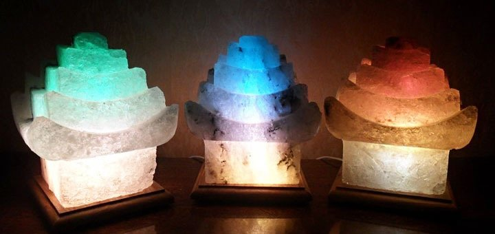 Лучший и целебный подарок к Новому году! Лечебные соляные лампы от компании «Соляной Грот»!