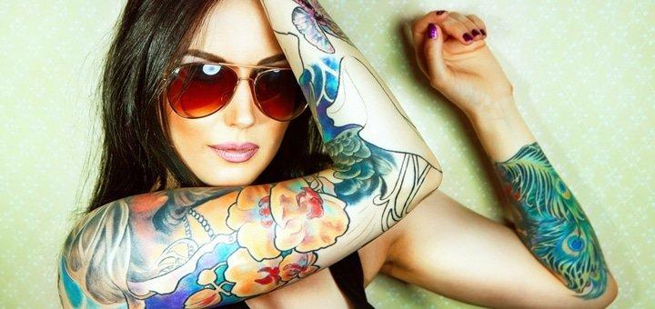"""Укрась свое тело! Профессиональные татуировки в салоне """"Immortal Art""""!"""
