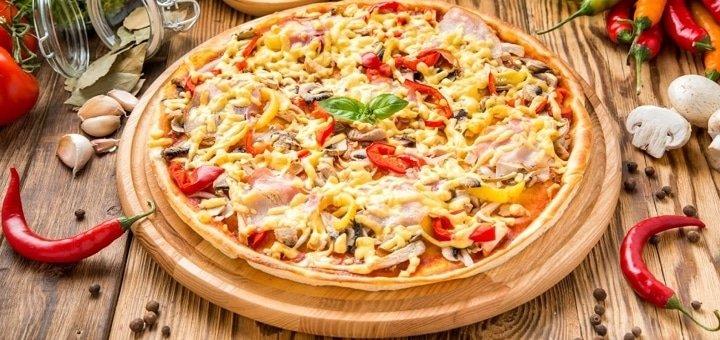 Скидка 20% на доставку салатов, десертов и пиццы от пиццерии «Милано»