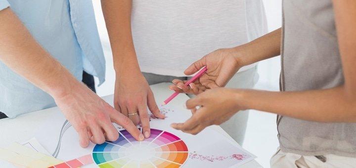 Курс по креативному дизайну интерьера для одного или двоих человек в школе практического дизайна «Etoil-formation»