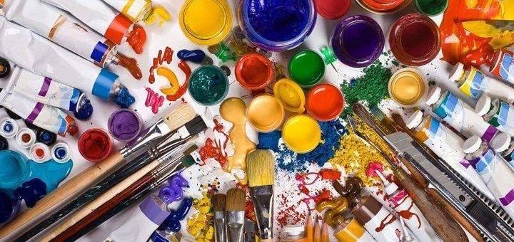 Курс живописи для начинающих, живопись маслом или акварелью на выбор от арт-студии «Каравелла»