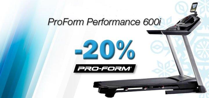 Скидка 20% на беговую дорожку ProForm от компании «Фитнес Трейдинг»