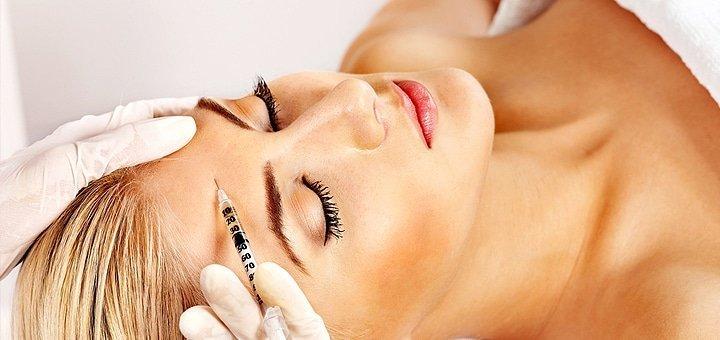 Инъекции диспорта для устранения мимических морщин (зоны вокруг глаз, межбровья и лба) в клинике Health & Beauty Clinic!