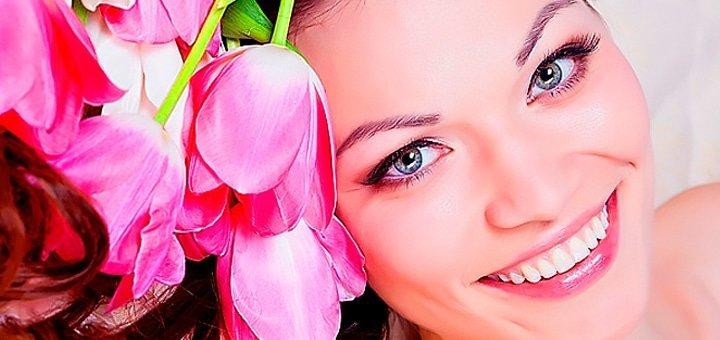 Алмазная микродермабразия или пилинг лица на выбор в кабинете косметологии «La charme»