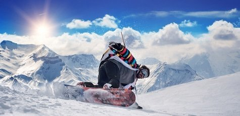 Snowboard-winter
