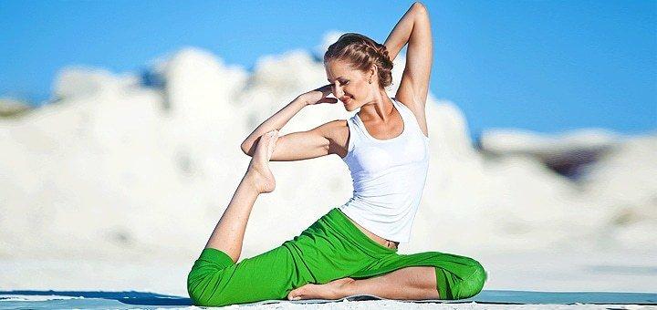 8,12 и 16 занятий хатха-йогой в студии «Slim-Yoga»