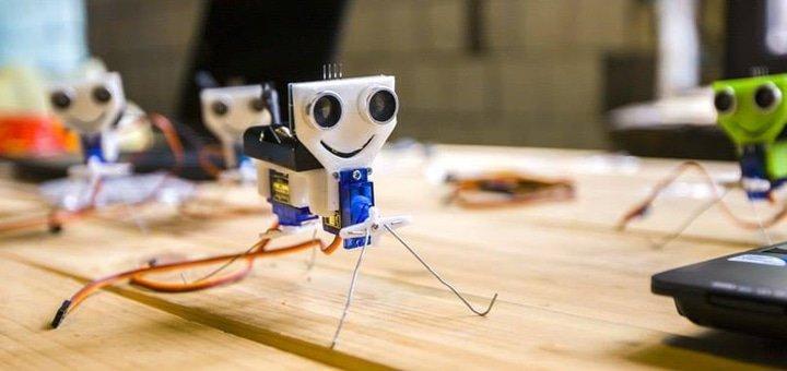 До 5 занятий робототехники «Arduino drone» для детей в  «IntRobots»