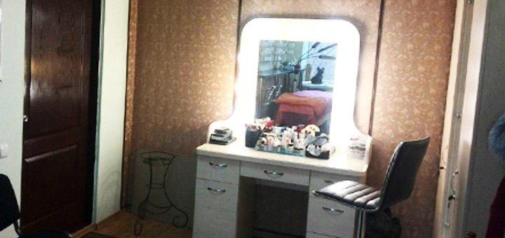 Бразильское кератиновое выпрямление волос на любую длину в салоне красоты «SN Studio»