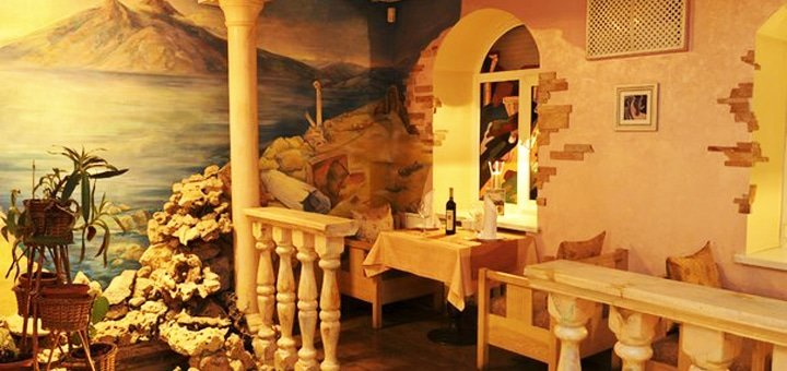 Скидка 40% на всё меню кухни, чайную, кофейную карты и алкогольные коктейли в турецком ресторане «Эфес»