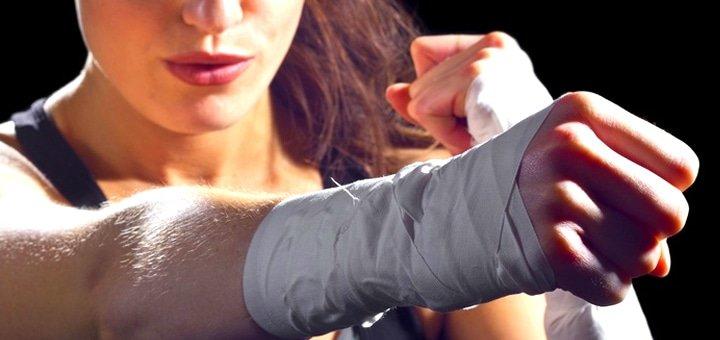 Скидка 50% на месячный абонемент занятий по женской самообороне в «Lady Fight Club»