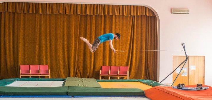 Скидка 50% на час аренды батута в сети батутных залов «Jumping Hall»