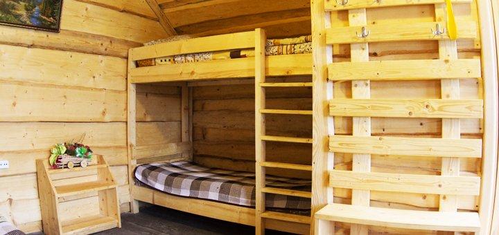 До 8 дней отдыха для двоих или четверых в домиках усадьбы «Аляска» в Карпатах