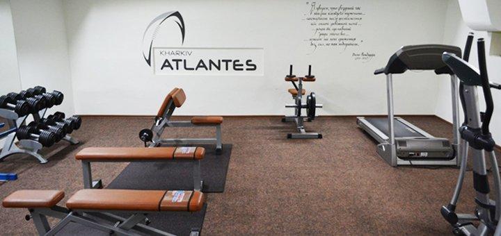 Скидка до 58% на 1, 2 или 3 месяца посещения тренажёрного зала «Atlantes GYM»