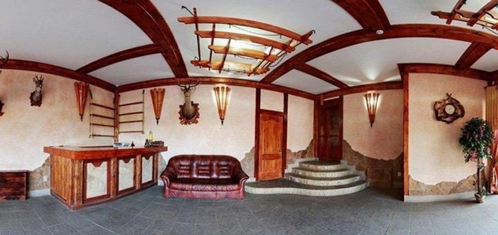 От 3 дней отдыха для двоих в отеле «Берлога» в Славском