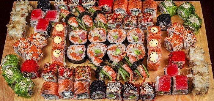 Скидка 50% на все меню японской кухни, разливное пиво, а так же на напитки собственного приготовления, в «ARKADIA»!