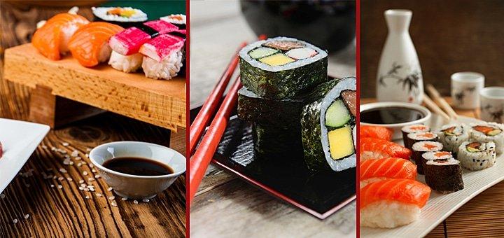 Ролл «Филадельфия с лососем» в подарок от Мураками при сумме заказа от 250 грн. в интернет-магазине Eda.ua!