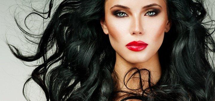 Стрижка, укладка, окрашивание,мелирование, омбре и восстановление волос в студии «Della Rossa». От 149 грн.!