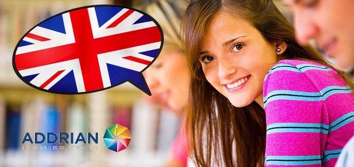 Экспресс-курс английского языка для одного или двоих в школе «ADDRIAN»!