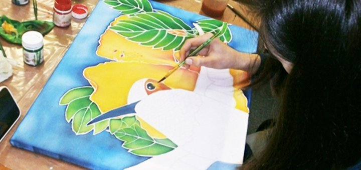Мастер-класс Батик в студии художественного творчества «7 Чудес»