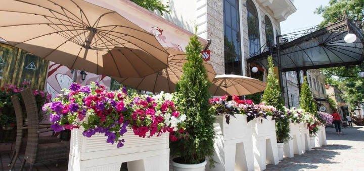 До 4 дней отдыха в пятизвездочном отеле «Калифорния» в Одессе