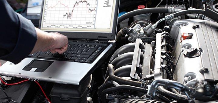 Компьютерная диагностика автомобиля или ходовой части на СТО «Стелс»