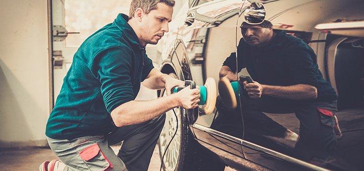 Эпоксидно-защитная профессиональная полировка автомобиля на СТО «Стелс»