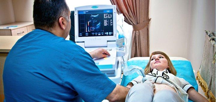 Обследование у гинеколога, УЗИ органов малого таза в медицинском центре «Медикс»