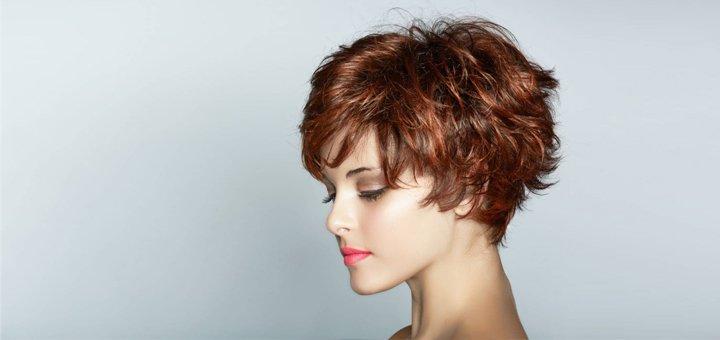 Женские модельные стрижки, полировка волос по всей длине в салоне красоты «Кураж»
