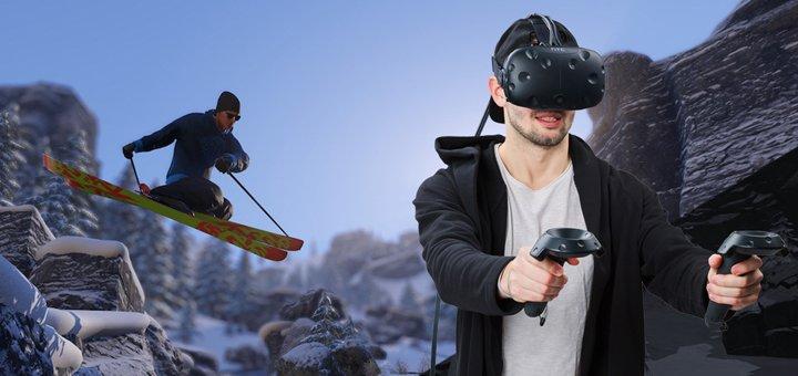 Скидка 50% на полное погружение в виртуальную реальность в клубе «Cube»