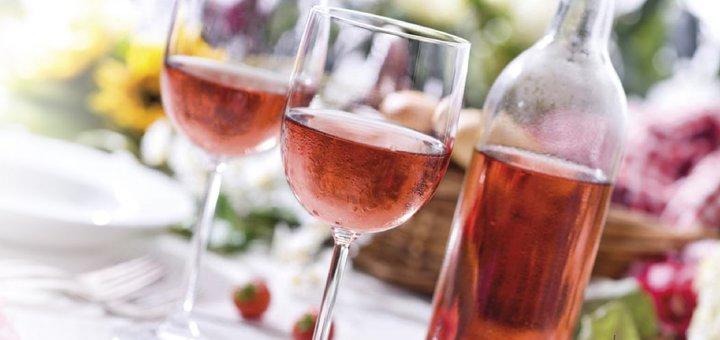 Скидка 25% на розовые вина и вина для пикников в интернет-магазине «WINETIME»