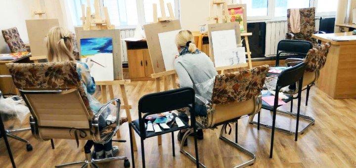 До 12 занятий по живописи в студии «Free Art»