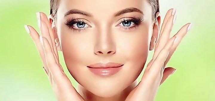 Скидка 60% на комплексную программу чистки лица с пилингом и альгинатной маской в косметологии «Spring»