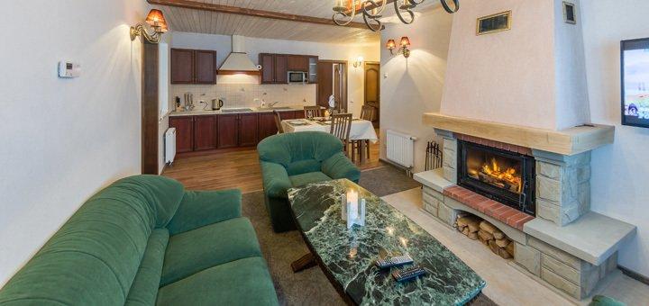 От 4 дней отдыха в шикарных апартаментах отеля «5 каминов» в Карпатах