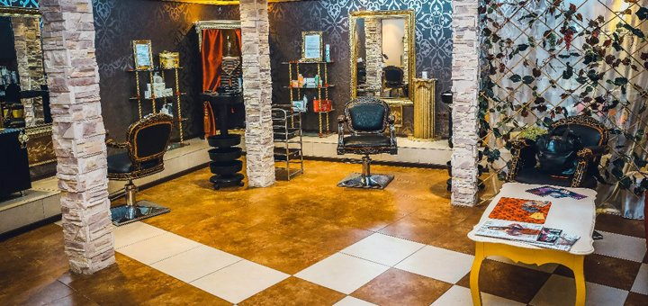 Стрижка, укладка, кератиновое лечение и окрашивание волос в VIP-салоне красоты «Be Queen»