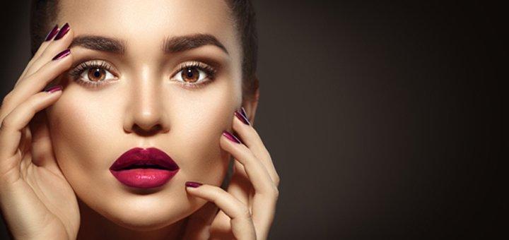 Высококачественный перманентный макияж (татуаж) век, бровей или губ в кабинете перманентного татуажа «Амплуа»