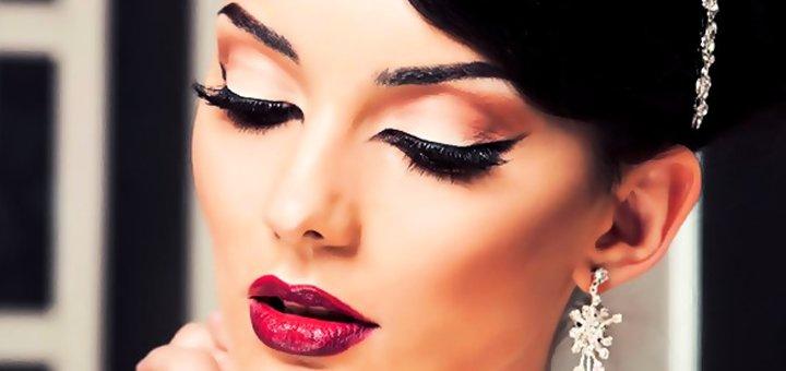 Вечерний, клубный, макияж для фотосессии или на выпускной вечер от женского клуба «Гармония»